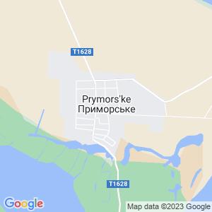 Карта города Приморского