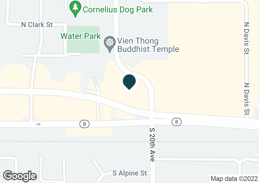 Google Map of115 N 20TH AVE