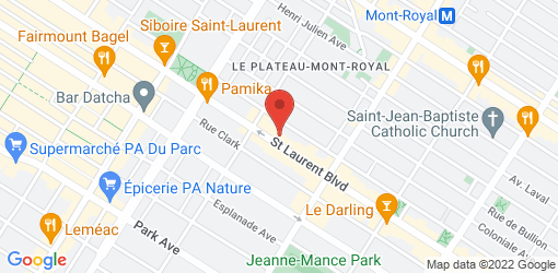 Directions to Aux Vivres Plateau