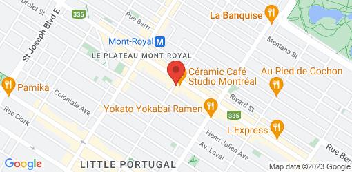 Directions to Café Tuyo