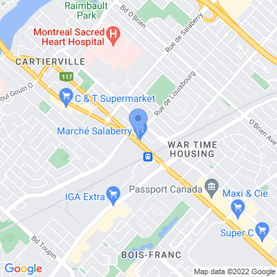 Euromarché Lachapelle Map