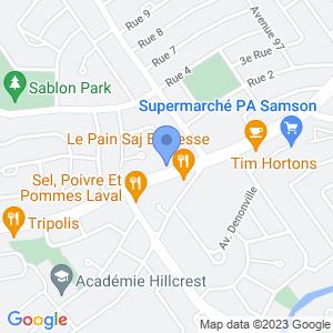 Dépanneur 7 Jours - Chomedey Map