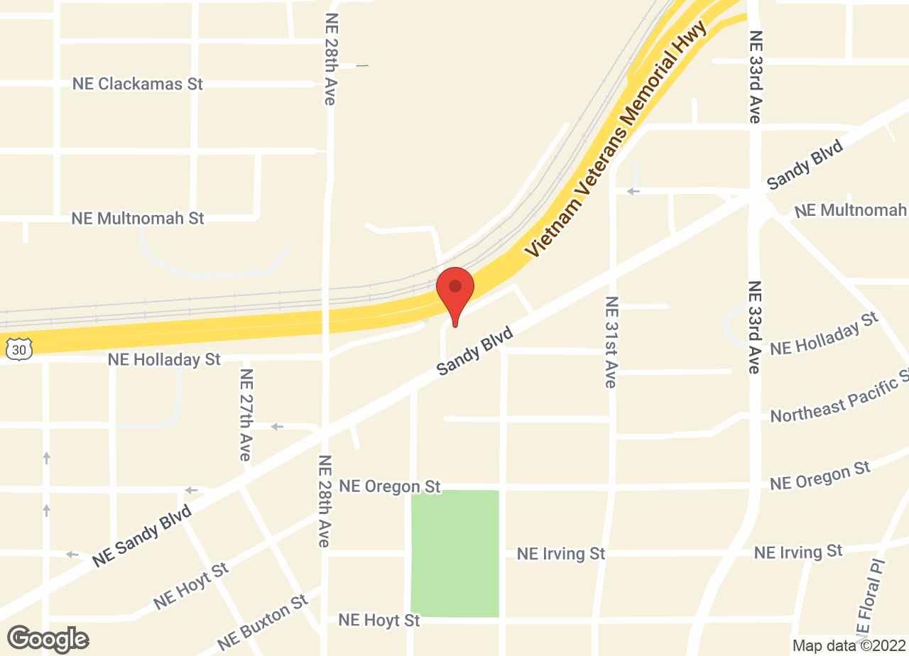 Google Map of VCA Laurelhurst Animal Hospital