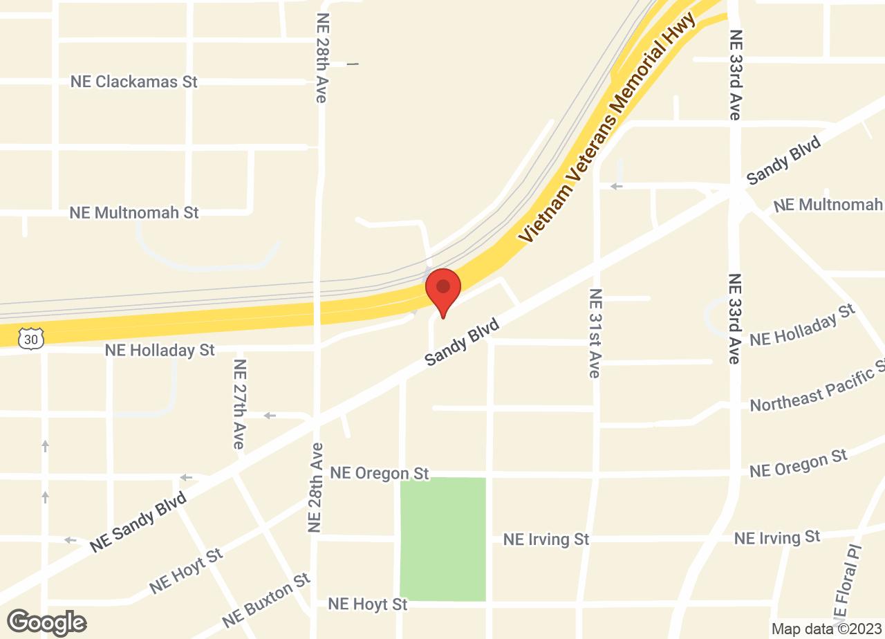 Google Map of VCA Laurelhurst Animal Hospital