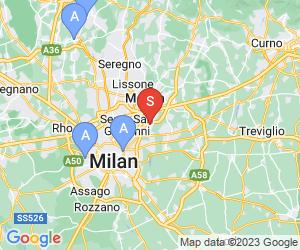 Karte für Piscina comunale coperta Cologno Monzese