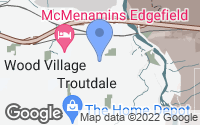 Map of Troutdale, OR