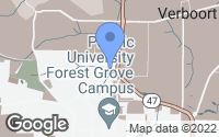 Map of Forest Grove, OR