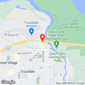 Map of LOFT Outlet at 450 NW 257th Way, Troutdale, OR 97060