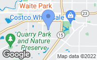 Map of Waite Park, MN