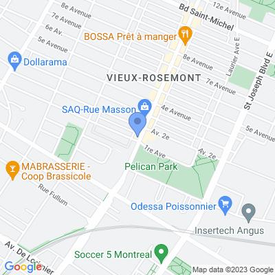 Dépanneur Provi-soir - Masson Map