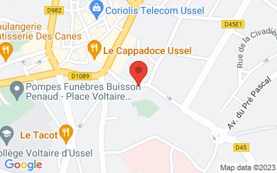 18 Avenue Marmontel, 19200 Ussel, France