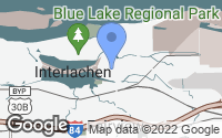 Map of Fairview, OR