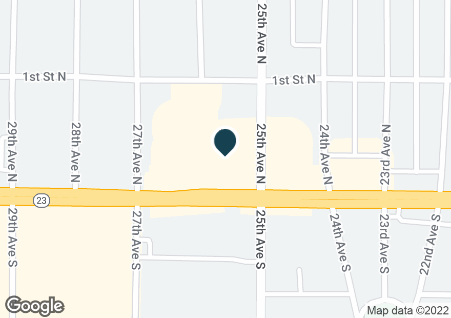 Google Map of2505 W DIVISION ST