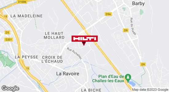 Hilti Store - Grenoble / Saint Martin d'Hères (ZI du Beal)
