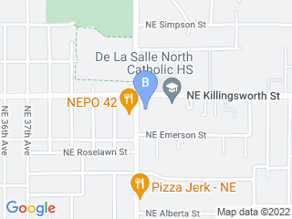 Map of 3 Dogs Boarding and Daycare Dog Boarding options in Portland | Boarding