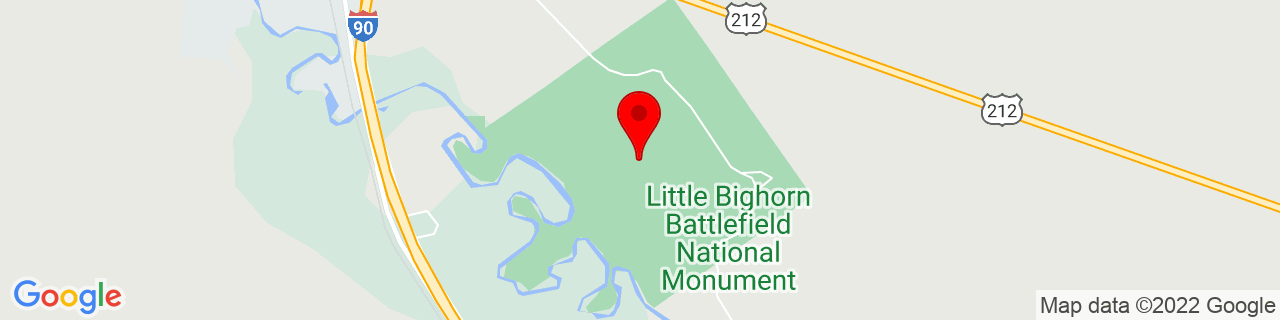Google Map of 45.5651016235352, -107.429000854492
