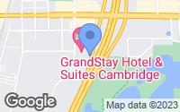 Map of Cambridge, MN