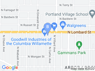 Map of Club K 9 Dog Boarding options in Portland | Boarding