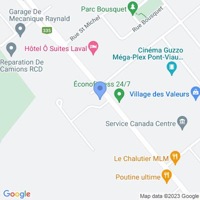 Dépanneur Rima Map