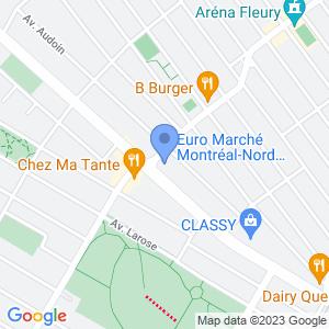 Euromarché St-Michel Map
