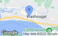 Map of Washougal, WA