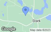 Map of Harris, MN