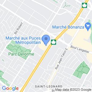 Touchez - Marché aux Puces Métropolitain Map