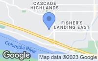 Map of Vancouver, WA