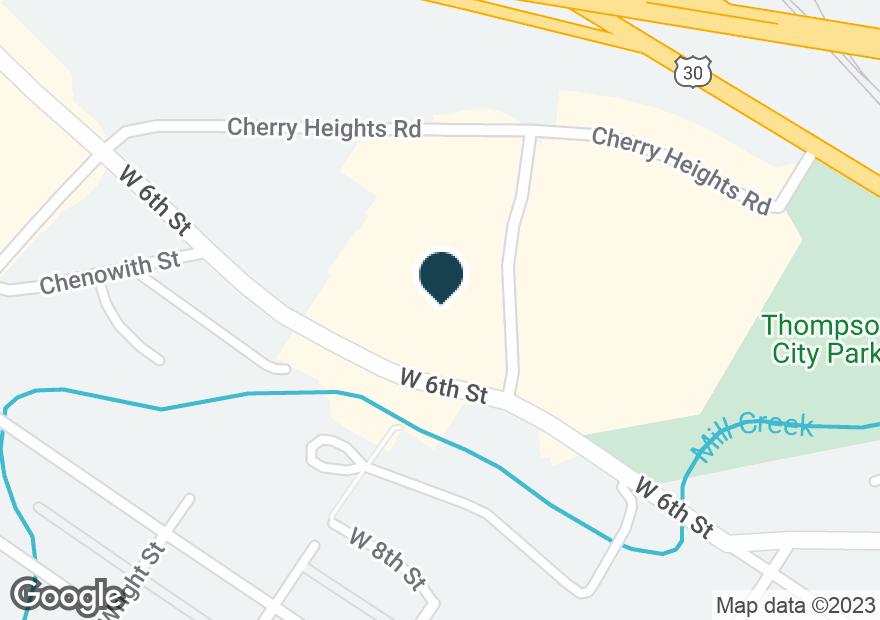 Google Map of515 MOUNT HOOD ST