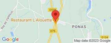Carte L'Alouette - Petit Paumé