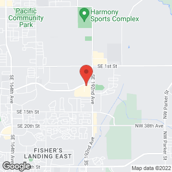 Map of Noodles & Company at 19151 SE Mill Plain Blvd., Vancouver, WA 98683