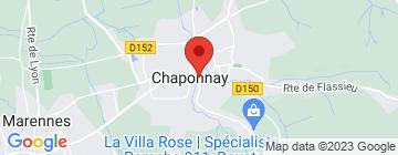 Carte Mercure Lyon Est Chaponnay - Petit Paumé