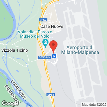 Map of Salvatore Ferragamo at Milano Malpensa Airport, Ferno, Varese 21010