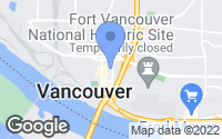 Map of Vancouver, WA