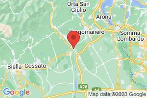 Map of Romagnano Sesia