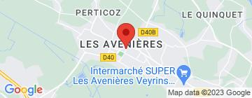Carte  Parc Walibi Rhône-Alpes - Petit Paumé