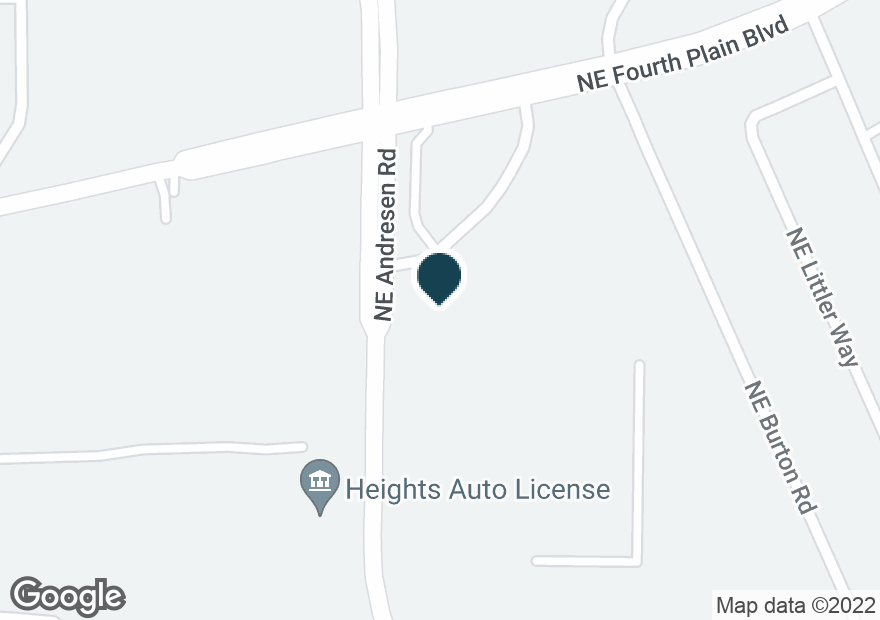 Google Map of2903 NE ANDRESEN RD