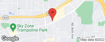 Map of 3321 NE Auto Mall Dr in Vancouver