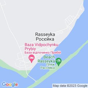Карта города Рассейки