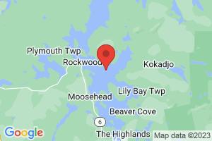 Map of Moosehead Lake