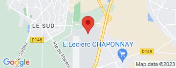 Carte Ecole de parachutisme de Lyon Corbas  - Petit Paumé