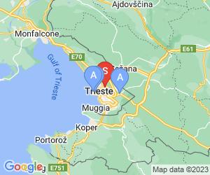 Karte für Museo di Mineralogia e Petrografia dell'Università degli Studi di Trieste
