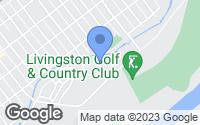 Map of Livingston, MT