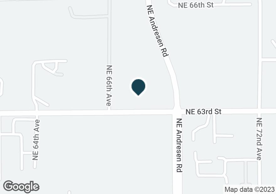 Google Map of6708 NE 63RD ST