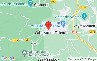 1 Rue Léger Gauthier, 63450 Saint-Amant-Tallende, France