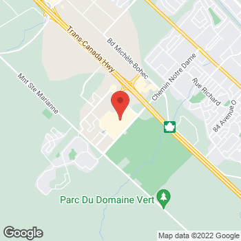 Map of Michael Kors Outlet at 19001 Chemin Notre-Dame, Mirabel, QC J7J0T1
