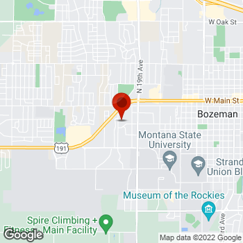 Map of Staples® Print & Marketing Services at 200 South 23rd Ave., Bozeman, MT 59718