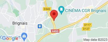 Carte Bowling de l'Ouest Lyonnais - Petit Paumé