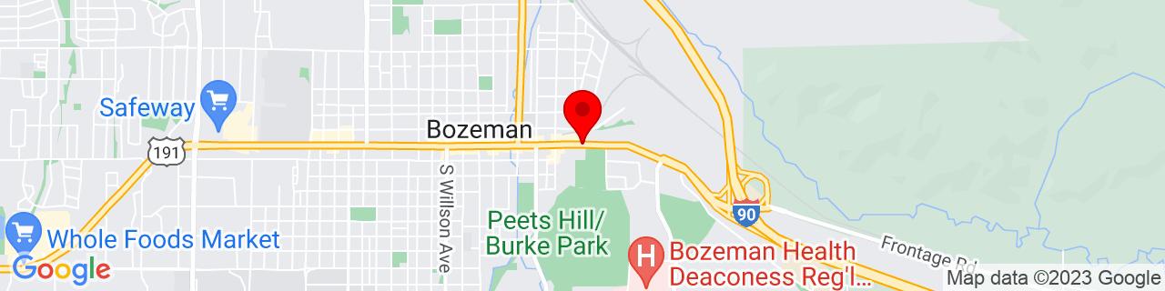 Google Map of 45.6793792, -111.0259648