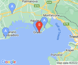 Karte für Holiday Residence Grado